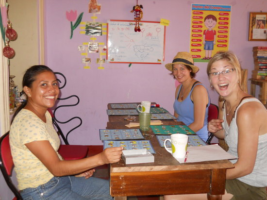 Casa Nica Spanish School: Classes for small groups
