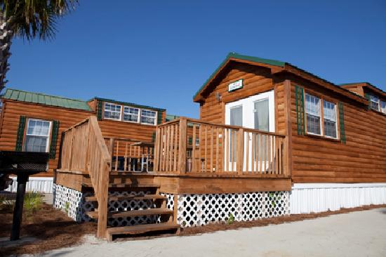 Camp Gulf: Cabins on the Beach