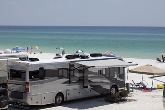 Camp Gulf: Camping on the Beach