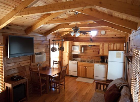 Camp Gulf: Inside a Cabin