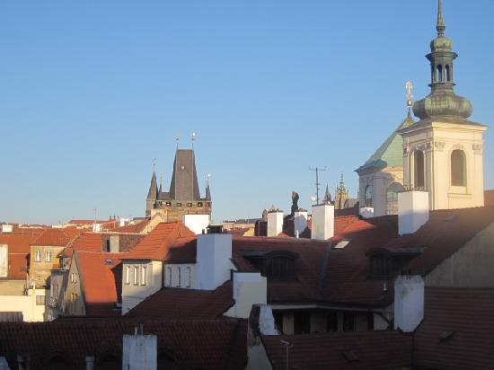 Hotel Liliova Prague Old Town: View toward Charles Bridge