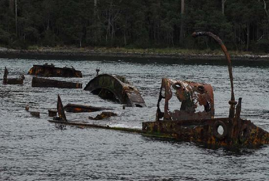 Port Arthur, Australien: The wreck of the William Pitt