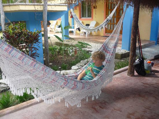Village Tan Kah: love the hammocks!