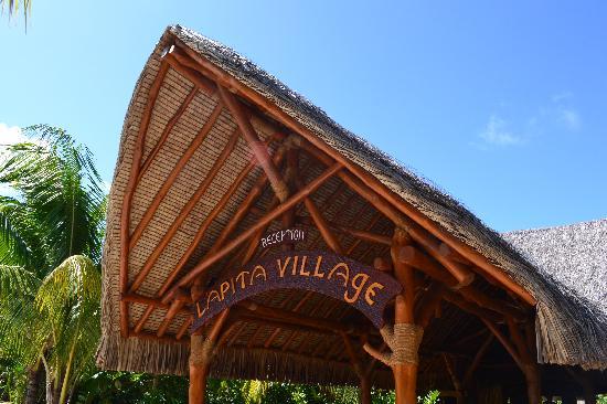 Maitai Lapita Village Huahine: Entrance