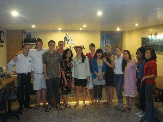 Hanoi A1 Hotel: American Students