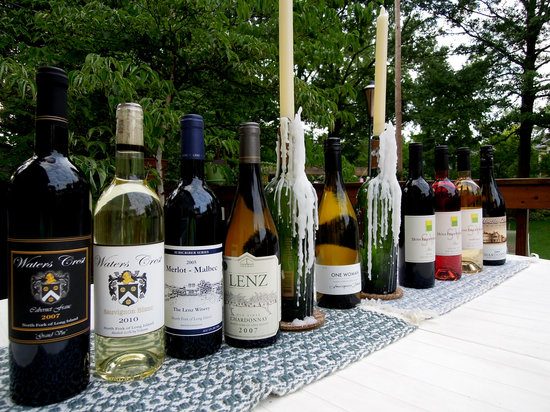 Mattituck, Nowy Jork: Our haul from the North Fork Vineyards