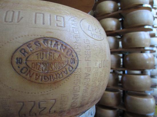 Emilia Delizia Food Tours: Parmasean Cheese Factory tour