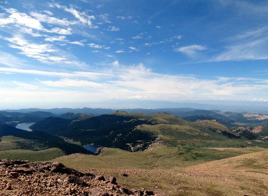 Magnuson Grand Pikes Peak: View from Pikes Peak- ~5 mins away'