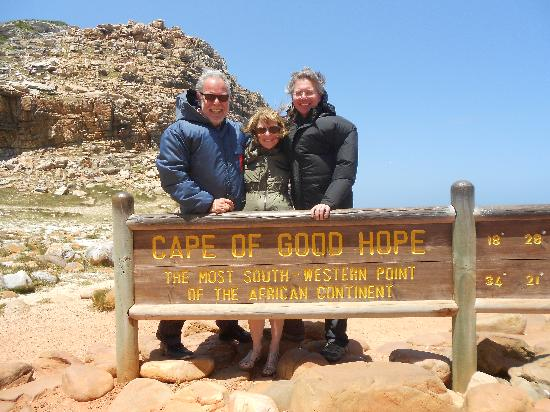 Beautiful Cape Town Tours: Man! this was a windy moment at the Cape of Good Hope.