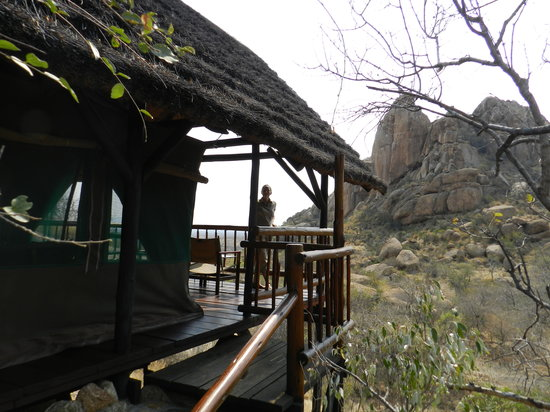 Erongo Wilderness Lodge: Our tent