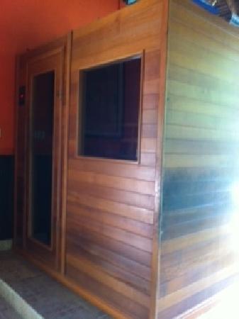 อุบุดซารี เฮลธ์ รีสอร์ท: Sauna