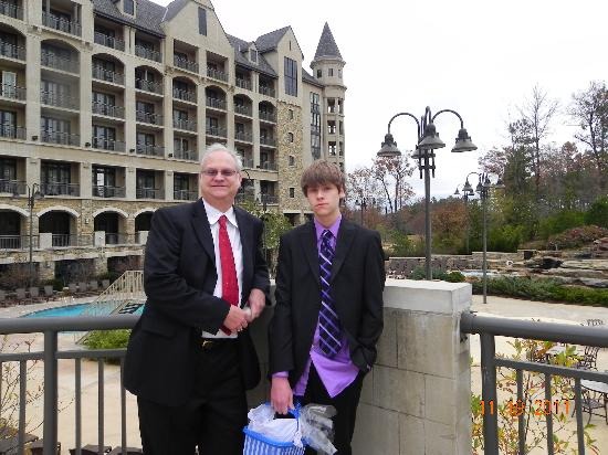 Renaissance Birmingham Ross Bridge Golf Resort & Spa: My son and I
