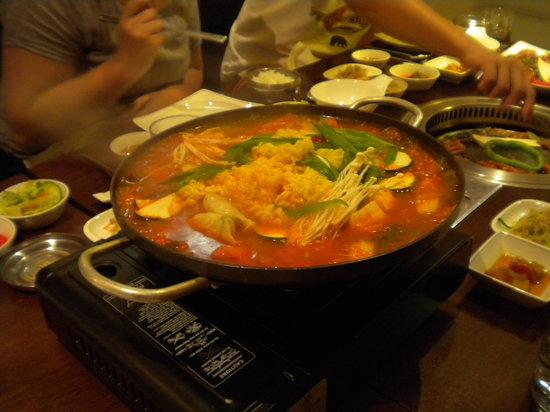 Shilla Korean BBQ: Hotpot