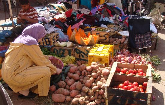 Riad Elizabeth: local market