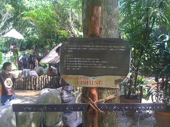 Lost World Of Tambun: Read before longkang fishing