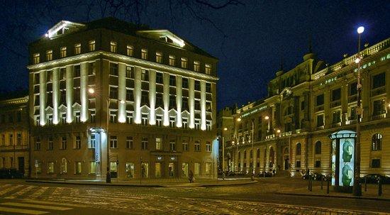 987 Design Prague Hotel: Exterior - night
