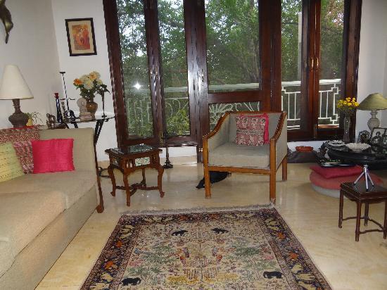 The lounge at Amaaya