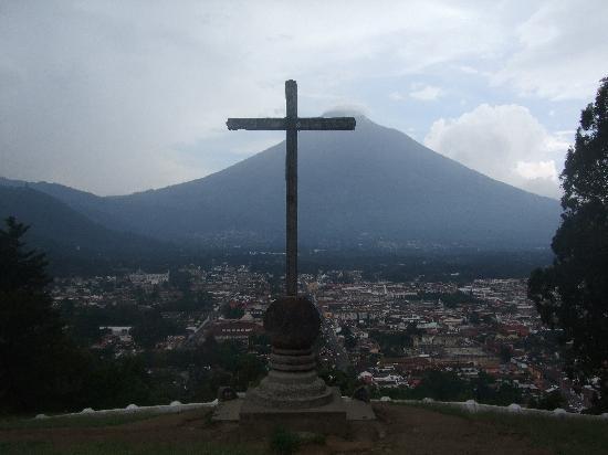 Posada Don Valentino: Cerro de la cruz(ホテルからの眺めではありません。)