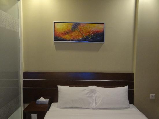 Very small room picture of grand imperial hotel for Small hotel room