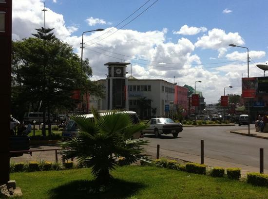 The Arusha Hotel: clocktower