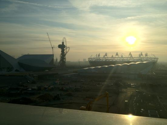 Westfield Stratford City: Olympic village from John Lewis Westfield