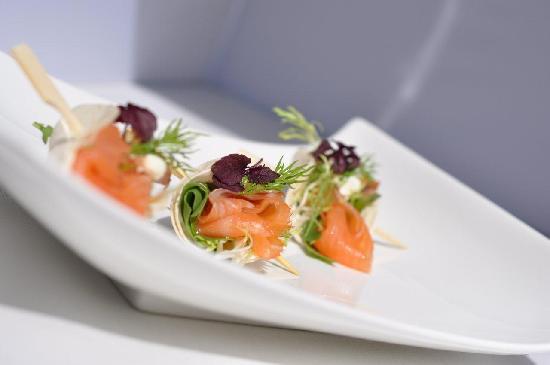 Charme Hotel : Smoked Salmon