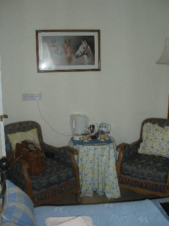 Kinfield B&B: Sitting area.
