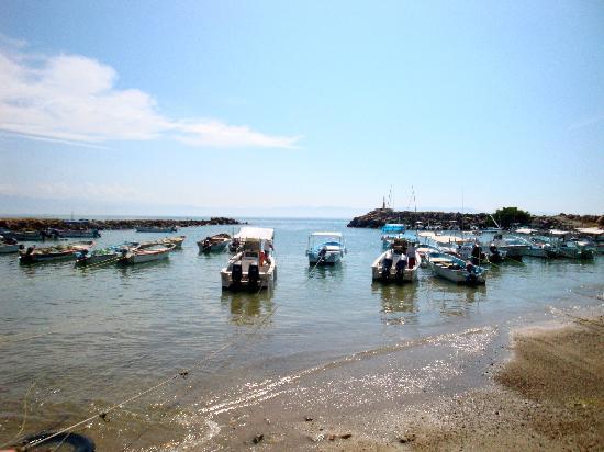 The Fishing Fleet At El Anclote Beach