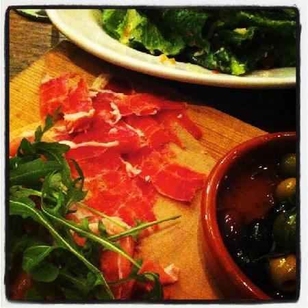 The Kitchen Salvatore Cuomo: Prosciutto platter