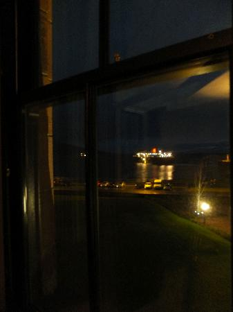 The Douglas Hotel: View from the suite in the evening