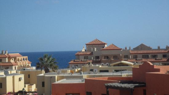 Hotel Costa Caleta: view from our balcony