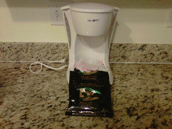 "Runaway Beach Club : ""Gourmet Coffee Maker & Starbucks® Brand Coffee"""