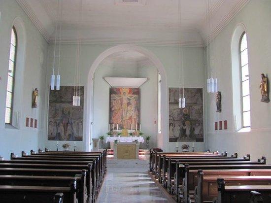 St. Ludwig: interior