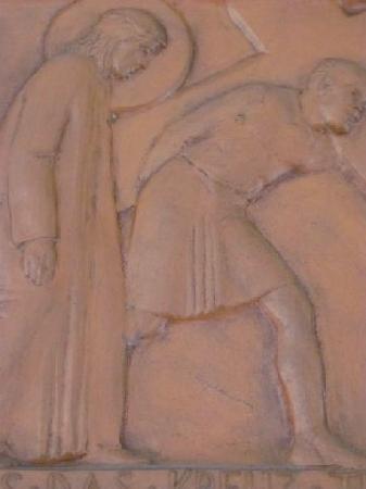 St. Ludwig: modern calvary