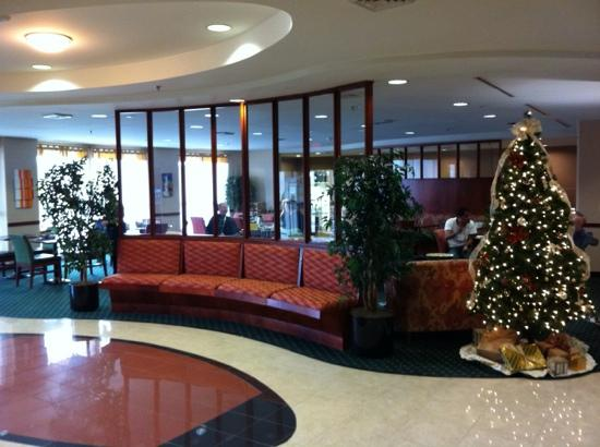Courtyard by Marriott Blacksburg: Lobby-main entrance