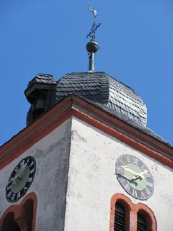 Gnodstadt Evangelischen Pfarrkirche: belltower