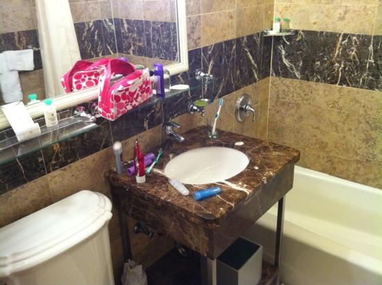 Bathroom Sinks New York City bathroom - picture of warwick new york, new york city - tripadvisor