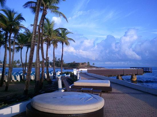 Caribe Hilton San Juan: Ocean view