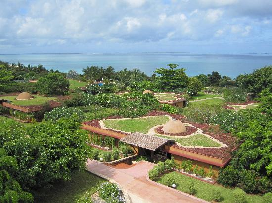 Eco-friendly resort design