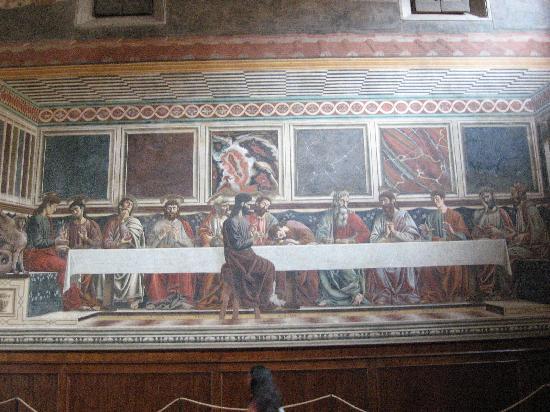 Cenacolo di Sant'Apollonia: Cenacolo by Andrea del Castagno