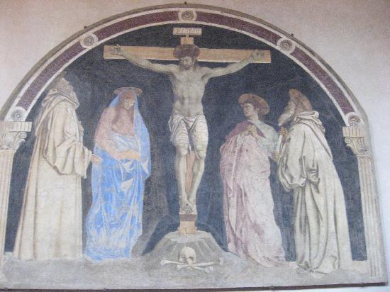 Cenacolo di Sant'Apollonia: A Crucifixion by Andrea del Castagno