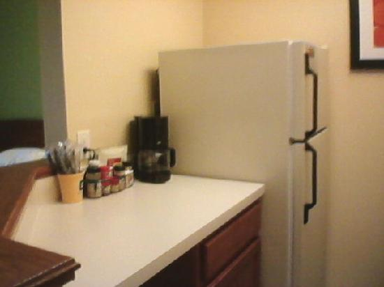 Portland Hotel and Suites: Full Size Fridge