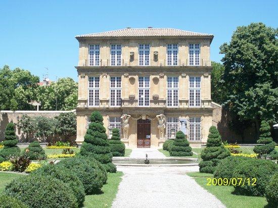 Aix-en-Provence, Frankrijk: Pavillon and Gardens