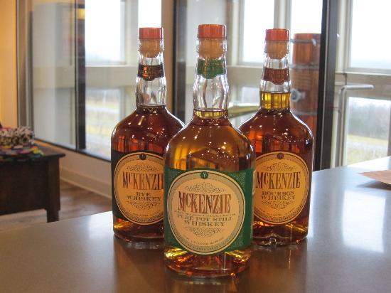 Finger Lakes Distilling Company: McKenzie Whiskies