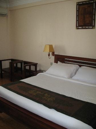 โรงแรมอังกอร์ เพิร์ล: The bed - very comfortable