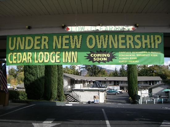 Cedar Lodge Inn : Under New Ownership/Management