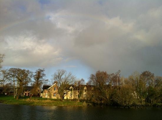 Lusty Beg Island : rainbow over the island