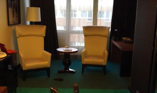 Radisson Blu Hotel, Malmo: living room