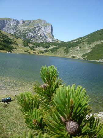 Lago Zireiner: panorama lago