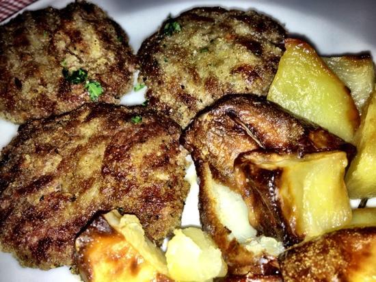 Osteria Giulietta e Romeo: polpette di puledro con patate